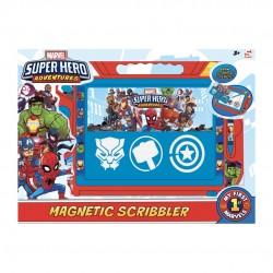 SUPER HERO ADVENTURE PIZARRA MAGNETICA