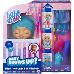 BABY ALIVE MARTINA CRECE DE VERDAD