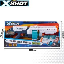 X-SHOT EXCEL PISTOLA TURBO FIRE 8