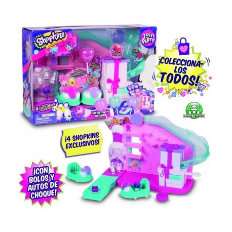 SHOPKINS S7 PLAYSET PARTY