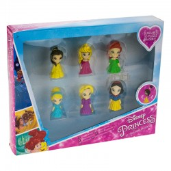 PRINCESAS DISNEY PACK 6 GOMAS