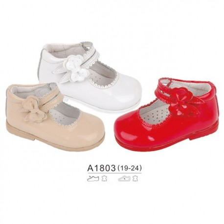bfb984749 Comprar Zapato Mercedita de Piel A1803 Bubble Bobble Precio 17