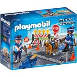 PLAYMOBIL CONTROL DE POLICIA 6924