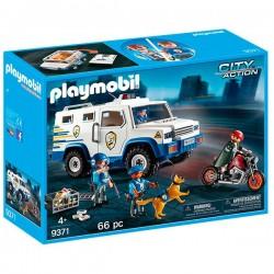 PLAYMOBIL VEHICULO BLINDADO 9371