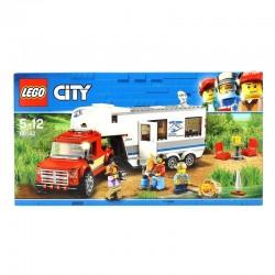 CAMIONETA Y CARAVANA LEGO 60182