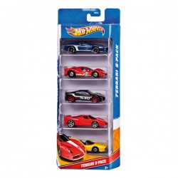 HOT WHEELS PACK DE 5 COCHES