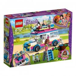 VEHICULOS DE OPERACIONES DE OLIVIA LEGO 41333