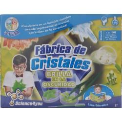 FABRICA DE CRISTALES BRILLA EN LA OSCURIDAD