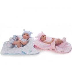 BABY RECIEN NACIDO SPRING 37 CMS ROSA Y AZUL