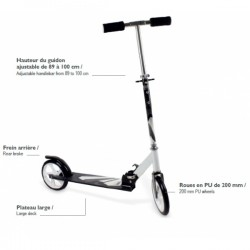 FUNBEE - PATINETE FREESTYLE ADULTO 200 MM.