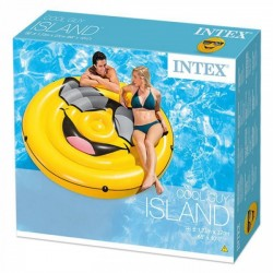 ISLA HINCHABLE EMOTICONO 173 CMS INTEX