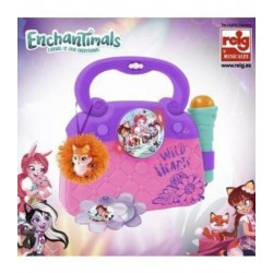 ENCHANTIMALS - BOLSO CON MICRO, LUCES ,Y RITMOS