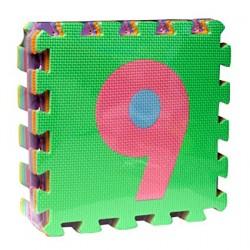 PUZZLE EVA 10 NUMEROS 32 X 32 CMS