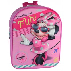 MINNIE MOCHILA 3D GUARDERIA