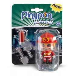 PIN Y PON ACTION FIGURA BOMBERO