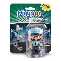 PIN Y PON ACTION FIGURA POLICIA