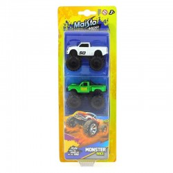 MAISTO SET DE 2 COCHES ARENA MONSTER