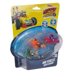 MINNIE ROADTER PACK DE 3 COCHES