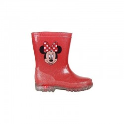 MINNIE MOUSE BOTAS DE AGUA LUCES