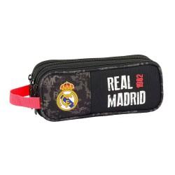 REAL MADRID PORTATODO TRIPLE BLACK