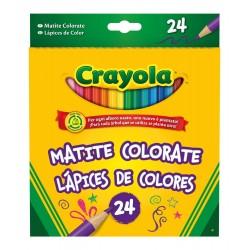 CRAYOLA 24 LAPICES DE COLORES