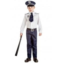 DISFRAZ INFANTIL POLICIA 5 A 6 ANOS