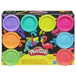 PLAY-DOH PACK 8 BOTES