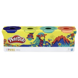 PLAY-DOH PACK DE 4 BOTES