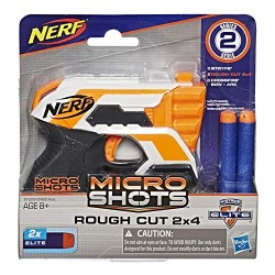 NERF ELITE MICROSHOTS ROUGH CUT