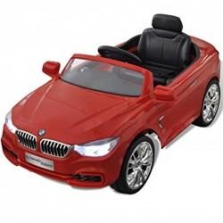 COCHE BMW 4 COUPE ROJO 12 V