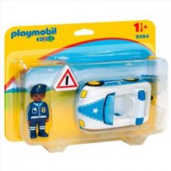 1 2 3 COCHE DE POLICIA PLAYMOBIL 9384