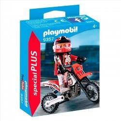 MOTOCROSS PLAYMOBIL 9357