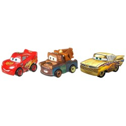 CARS 3 PACK 3 COCHES MINI RACERS