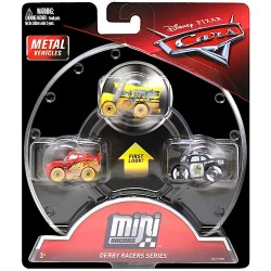CARS 3 PACK MINI RACERS