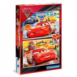CARS 3 PUZZLE 2 X 20 PIEZAS