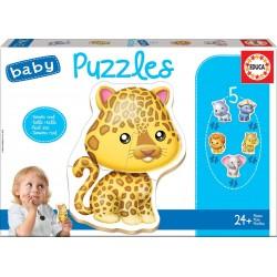 BABY PUZZLES ANIMALES SALVAJES