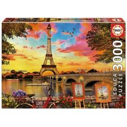 PUESTA DE SOL PARIS PUZZLE 3000 PIEZAS