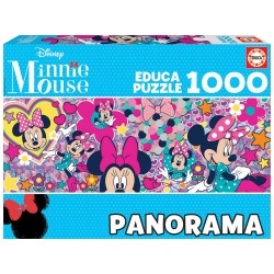 MINNIE MOUSE PANORAMA PUZZLE 1000 PIEZAS