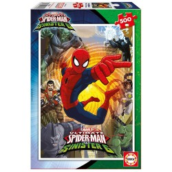 SPIDERMAN ULTIMATE PUZZLE 500 PIEZAS