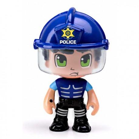 PIN Y PON ACTION POLICIA ANTIDISTURBIOS