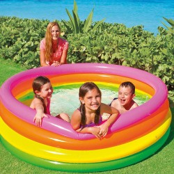 PISCINA HINCHABLE 167 X 46 4 AROS