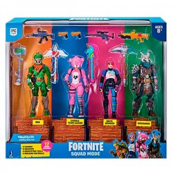 FORTNITE PACK 4 FIGURAS 10 CMS