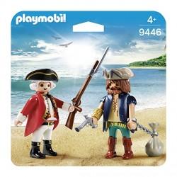 PIRATA Y SOLDADO PLAYMOBIL 9446