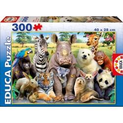 PUZZLE 300 PIEZAS FOTO DE CLASE