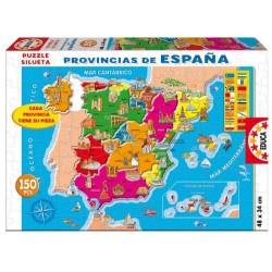 PUZZLE 150 PIEZAS PROVINCIAS DE ESPAÑA