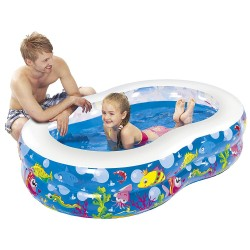 PISCINA HINCHABLE AQUARIUM 175 X 109 X 46
