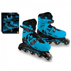 PATINES LINEA AZULES TALLA 33 A 36