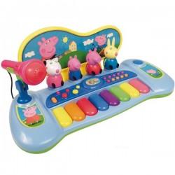 PEPPA PIG PIANO CON MICROFONO