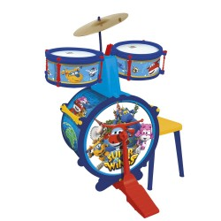 SUPER WINGS BATERIA CON BANQUETA