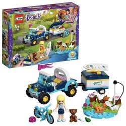BUGGY Y REMOLQUE DE STEPHANIE LEGO 41364